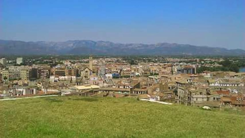 View of the local town Tortosa