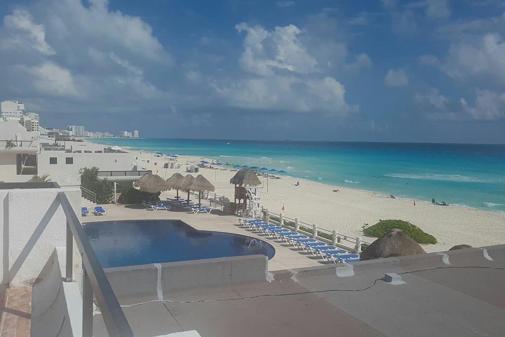 Foto desde el balcon