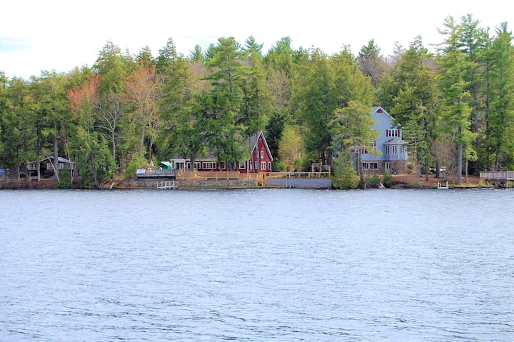 125' Water frontage on Pine River Pond in NH