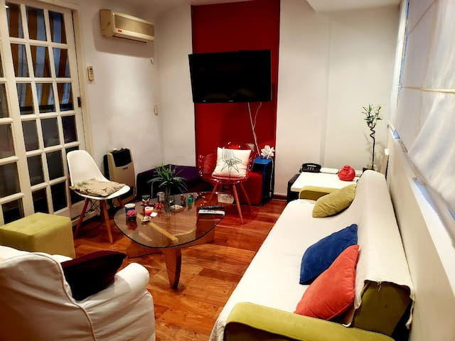 Colorful stay in Buenos Aires