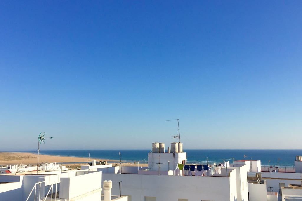 view from private roof-terrace/ vistas desde la terraza