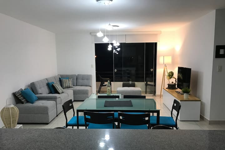Asia (south of Lima), apt. full furnished - Distrito de San Luis - Wohnung