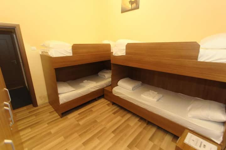 Singel Bed in Dormitory Room