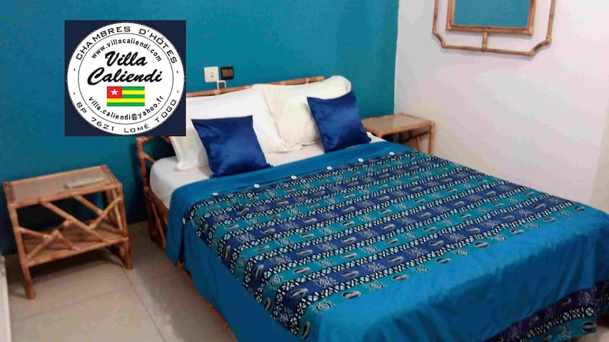 Villa Caliendi Guesthouse Chambre 1 - Lome - Bed & Breakfast
