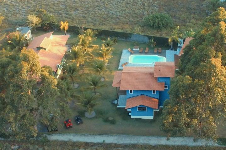 CASA AZUL Mangaba Village Barra Grande BA