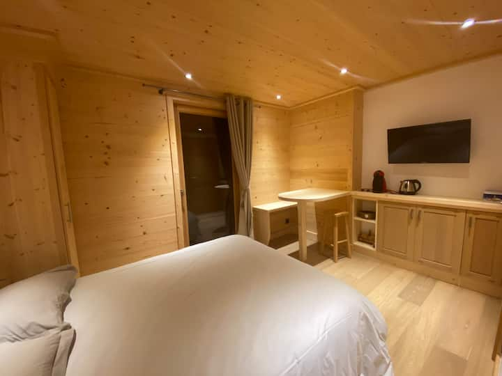 2 chambres privées dans chalet neuf