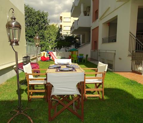 Dreamy studio with private garden