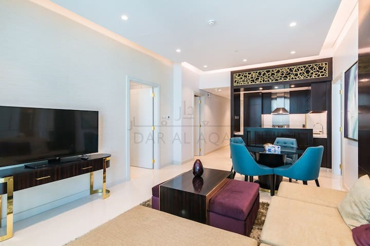 1bedroom walking distance to dubai-mall fountain