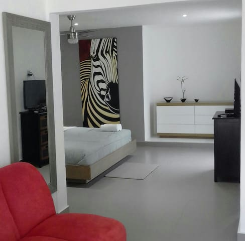 Modern apartment in Cancun's Downtown - 坎昆 - 附屬單元(In-law)