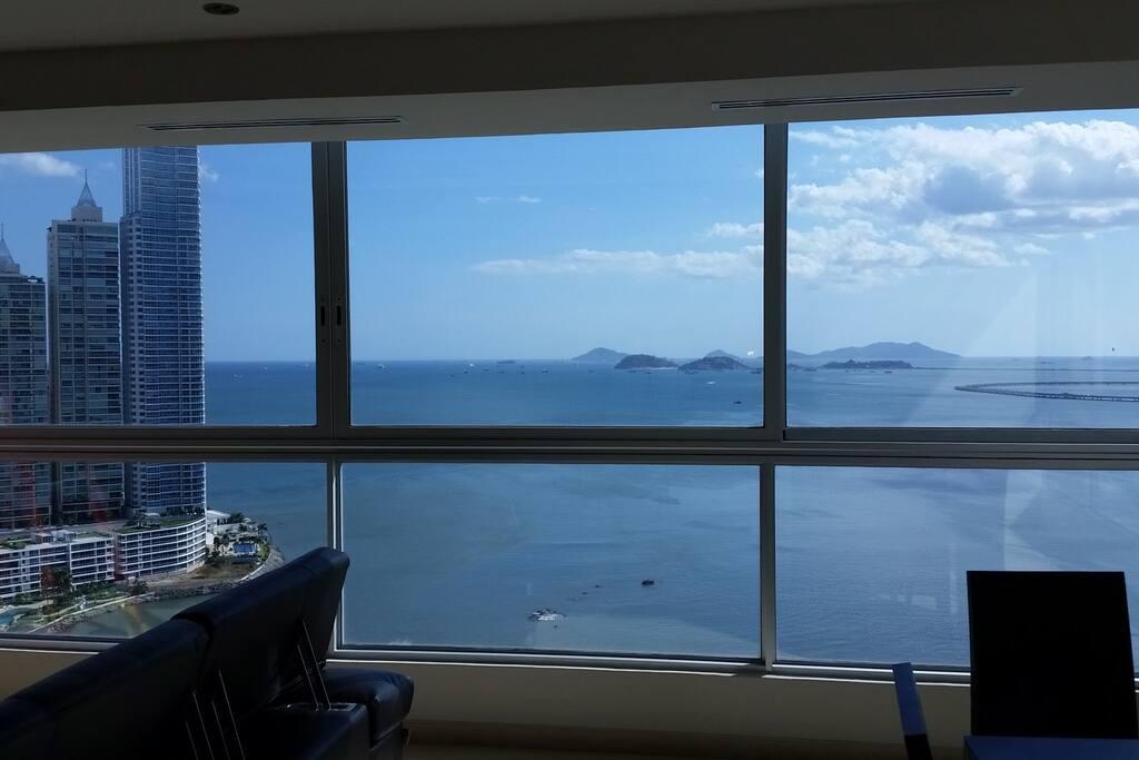 Amador islands view