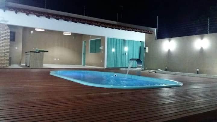 Excelente casa com piscina, Parnaíba litoral Piauí