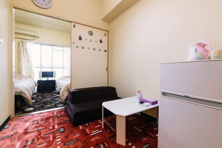 Close to Saga Station. Private, Clean & Cozy.