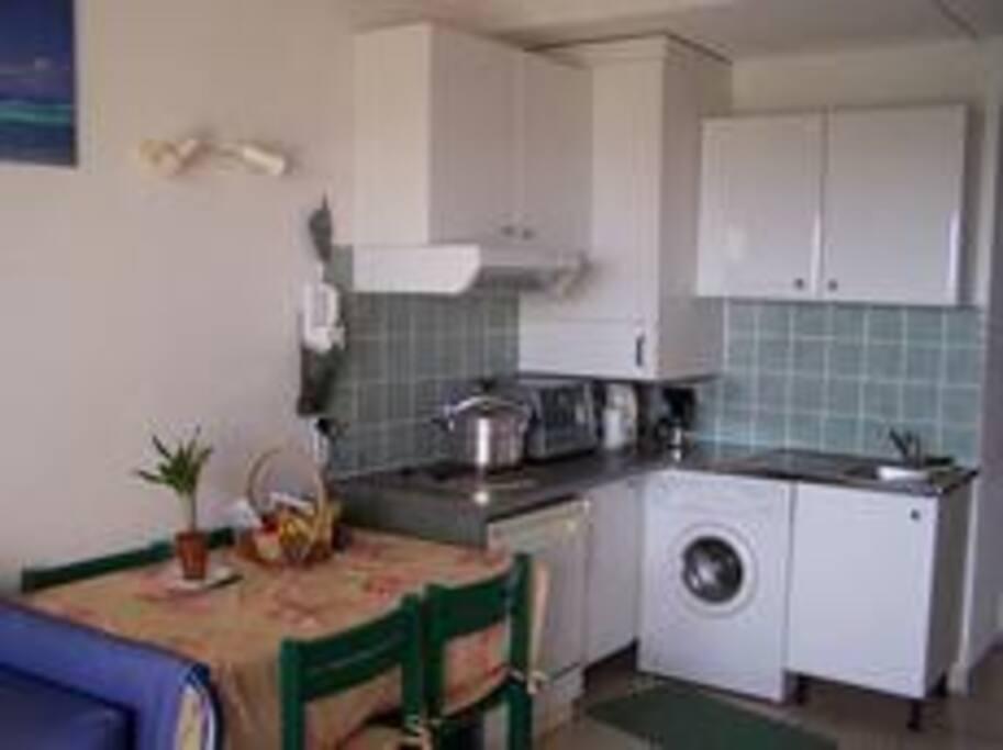 espace cuisine, équipement