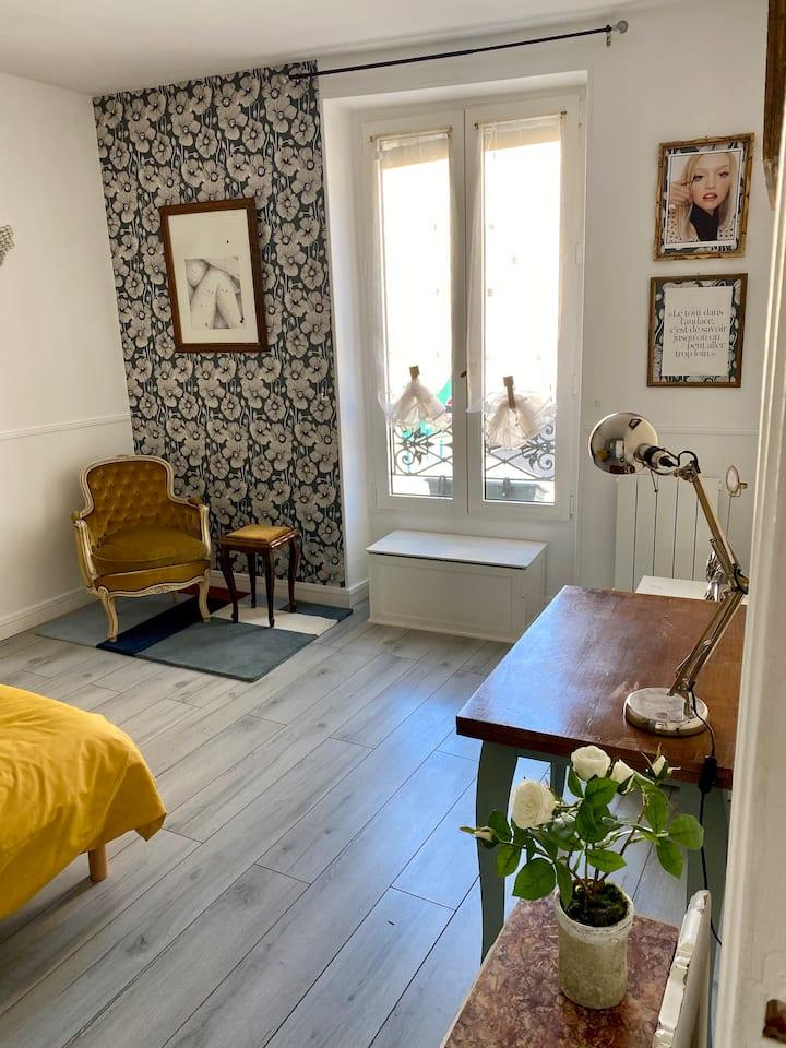 Appartement agréable, lumineux,32m2, Paris/Pantin