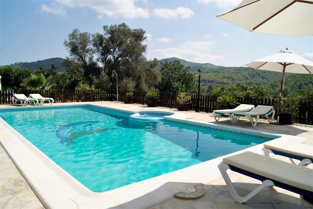 Can juano casa rural con piscina y jacuzzi alojamientos - Alojamiento rural con piscina ...