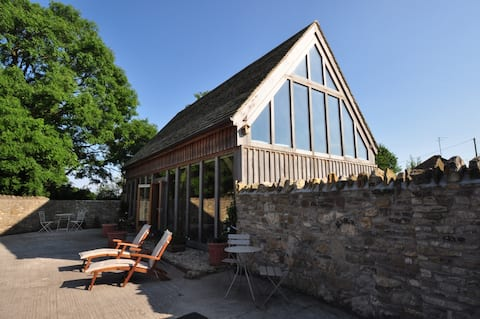 Eco Lodge in Somerset.