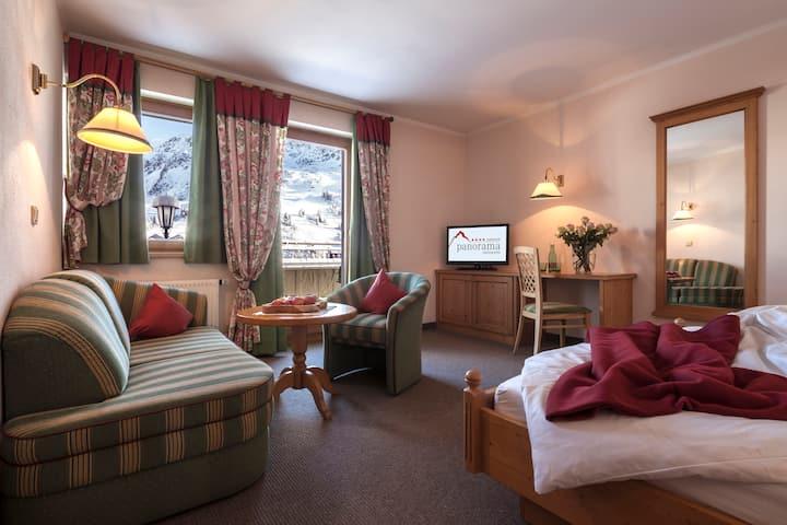 Hotel direkt am Skilift - Zimmer Standard 30 m²