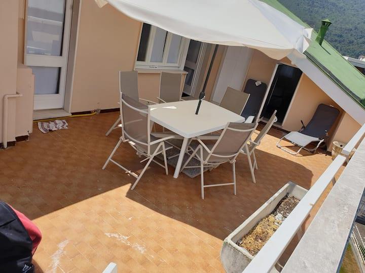NUOVO attico 82 mq + terrazzo 30 mq + box