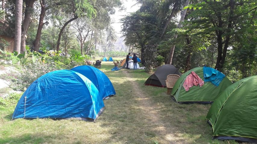 ShivMoon Cafe- Camping Tents, Hampi Hanumanhalli