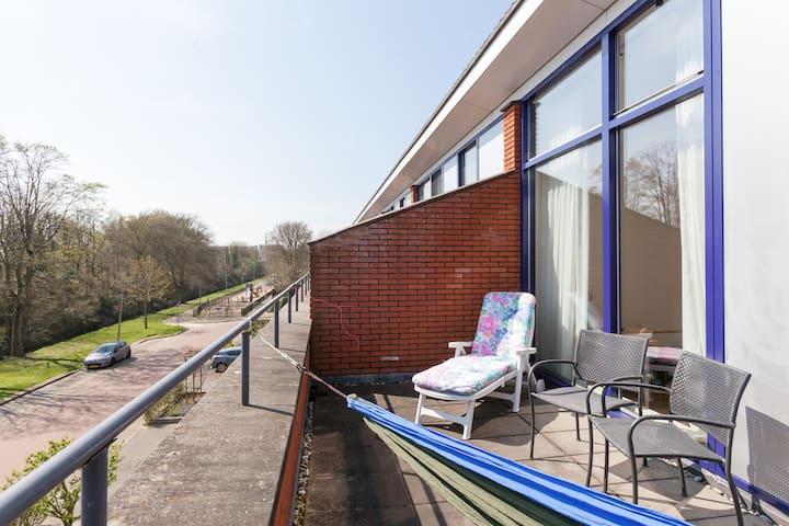 Room with roofterras and view - Arnhem - House