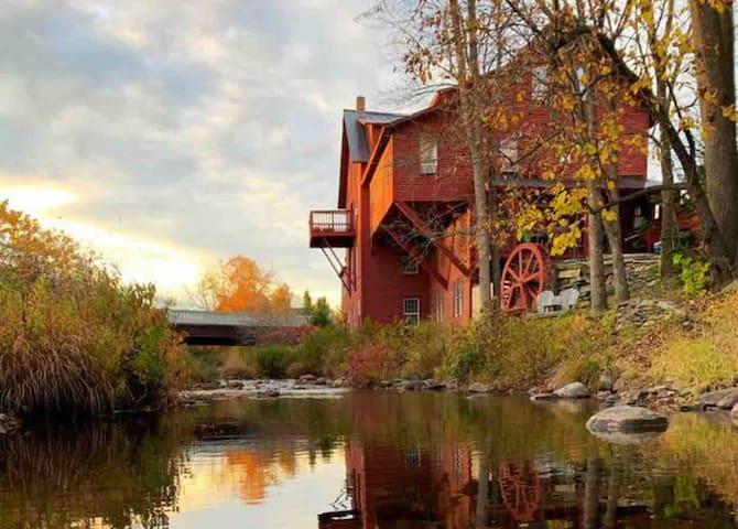 Historic VT Grist Mill on the William River
