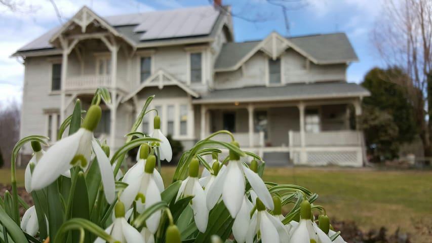 Private Suite & Kitchenette in Historic Farmhouse