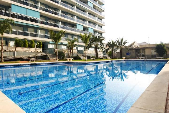 Appartement résidence Athenea. Playa de Gandia