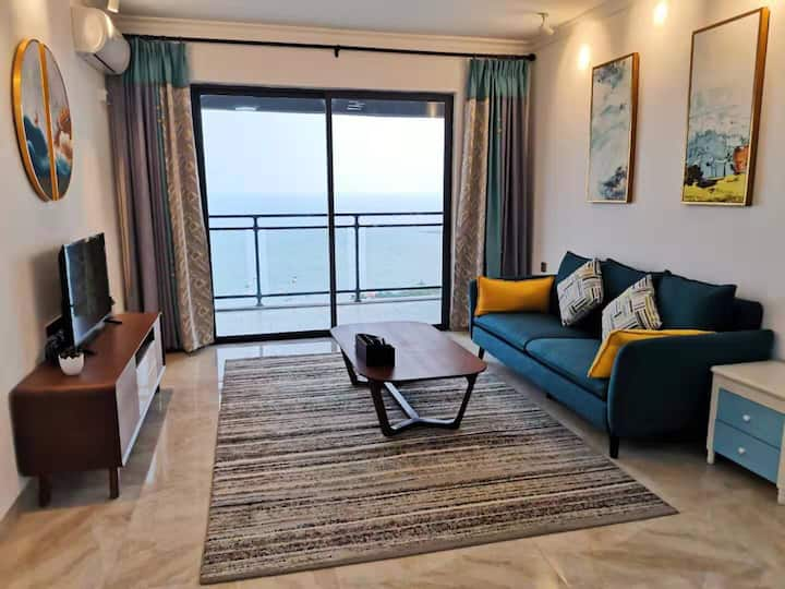 黄金海岸高层海景舒适家庭两居度假屋