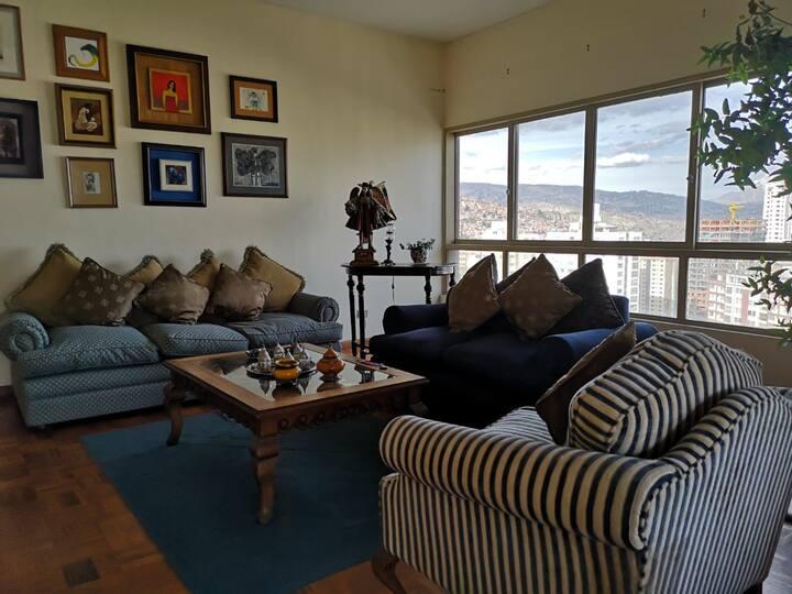 Penthouse en el mejor barrio de La Paz