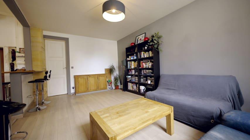 appartement lumineux, fonctionnel,  centre ville - Compiègne - Apartment