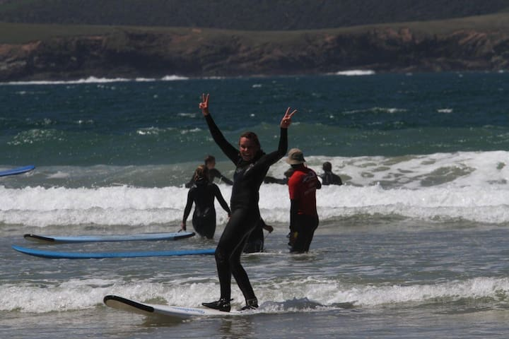 Another happy Catlins Surf student