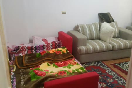 Private room in Giza city sharing apartment