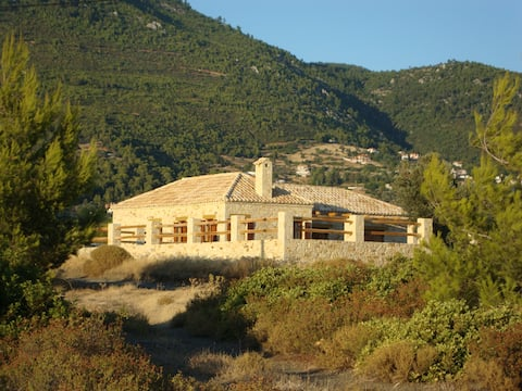 A Stone Cottage with Pool on the Island of Evia