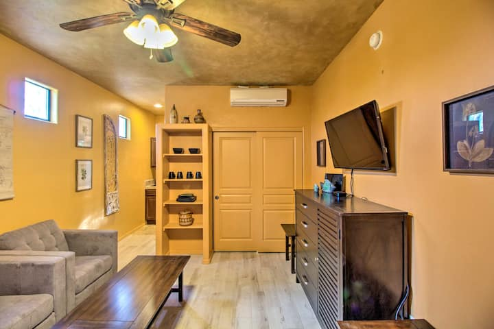 NEW! Studio w/Patio - 12 Mi to Saguaro Nat'l Park!
