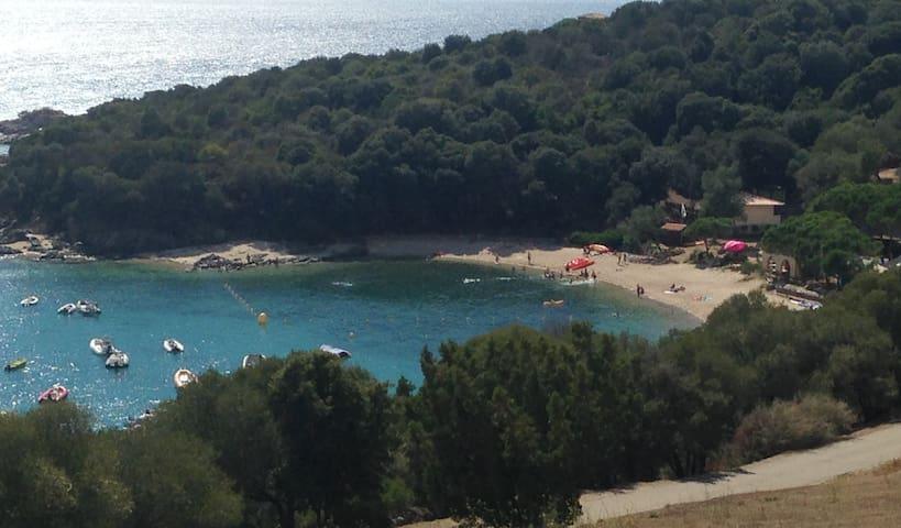 location dans propriété bord de mer - Olmeto - Casa
