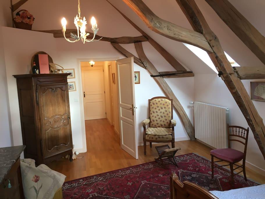 La chambre avec vue sur le couloir