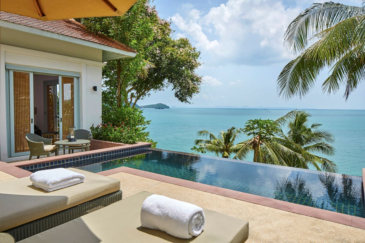 Ocean View Pool Villa - Enjoy the great view of Indian Ocean