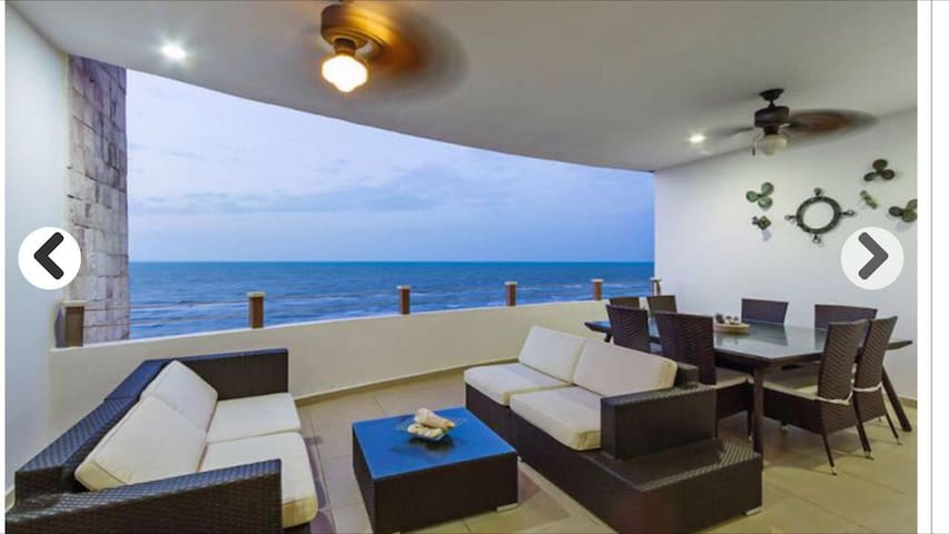 Beautiful beach apartment - Telchac Puerto - Appartement