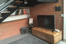 """43"""" TV with cable TV , and wifi too! (1st fl.)"""