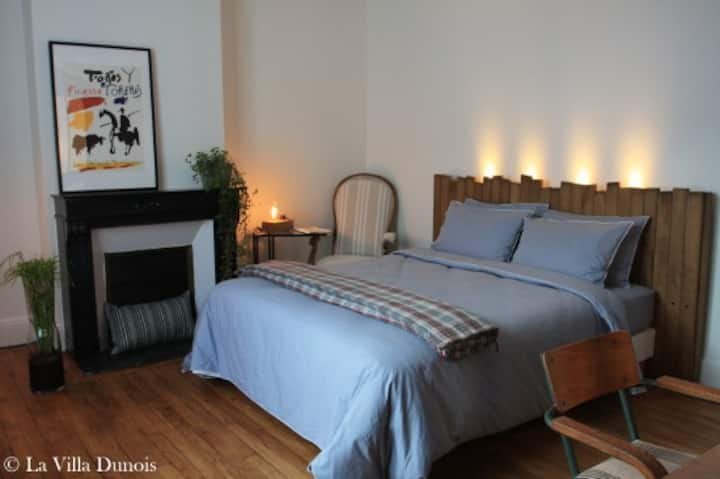 La chambre du Grand Meaulnes - La Villa Dunois