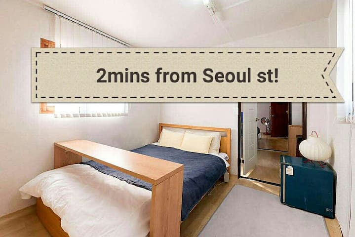 8people/ Whole house! 2BR - 서울특별시 - Huis