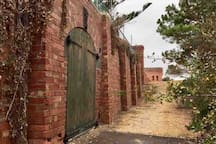 The Queenscliff Fort wall.  A perfect place to discover during your visit.