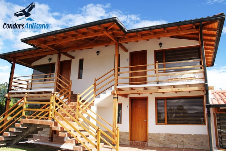 Hotel close to the  Aiport and Antisana Mountain