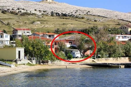 Studio flat near beach Dinjiška, Pag (AS-11061-a) - Dinjiška