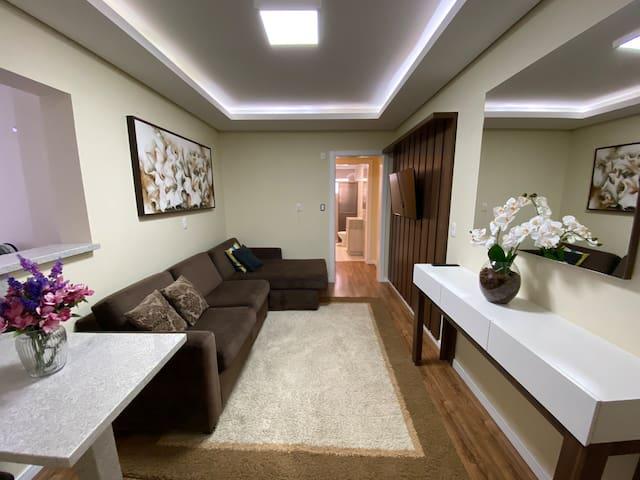 Belo apartamento a um minuto do centro