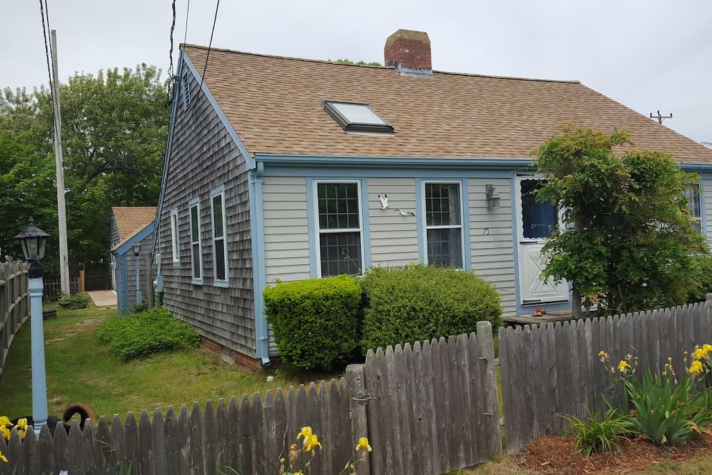 Front Cottage left side