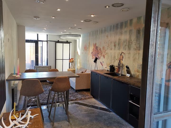 Dutch Design Apartment Privat terrace ground floor