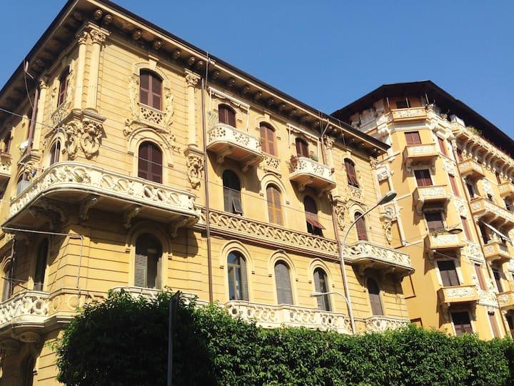 Casa Liberty in La Spezia