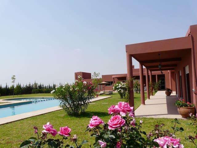 Villa Ocre dial Atlas - Marrakech - Villa