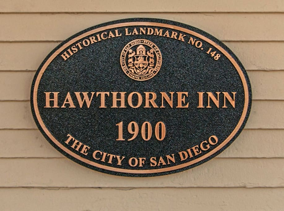 The Hawthorne Inn is on the National Register of Historic Places.